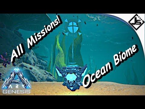 All Missions Ocean Biome Completed [Ark Genesis!]