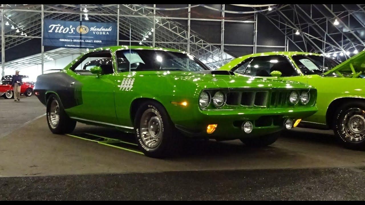2017 Dodge Barracuda >> 1971 Plymouth Cuda in Sassy Grass Green Paint & 440 Engine ...