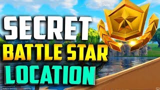 WEEK 2 SECRET BATTLE STAR LOCATION in FORTNITE - FORTNITE WEEK 2 BLOCKBUSTER BATTLE STAR LOCATION