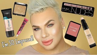 Drugstore Makeup Tutorial | Trying NEW Makeup!