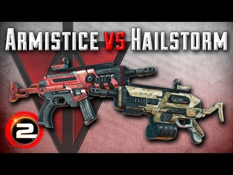 Hailstorm versus Armistice (TR Weapon Comparison and Review) - PlanetSide 2
