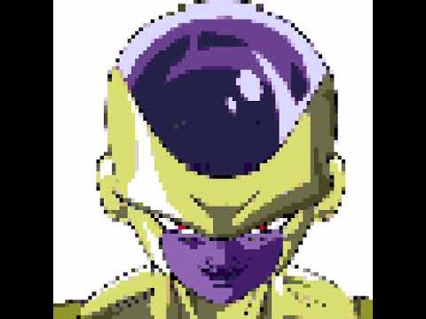 Golden Freezer Pixel Art
