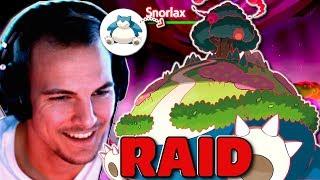 GIGADYNAMAX RELAXO RAID EVENT! Pokemon Schwert & Schild