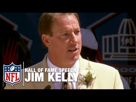 "Jim Kelly ""Toughness"" Hall of Fame Speech 