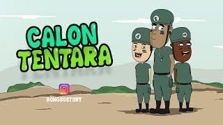 Kartun lucu Calon Tentara | Bongso Story | Animasi Indonesia Timur