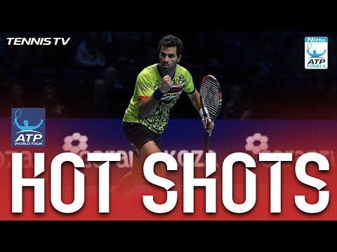 Hot Shot Rojer Beats Power With Touch Nitto ATP Finals 2017 Round Robin