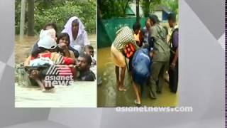 Heavy rain in Chalakudy; Thousands of people stranded