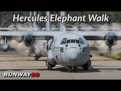 Market Garden 2019; Aircraft Elephant Walk   Eindhoven Air Base, Netherlands   RNLAF [4KHD]