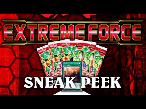 Yugioh Extreme Force Sneak Peek Exposed and Intel Leaked God Packs? Nothing But Ultimate Rares? Nope