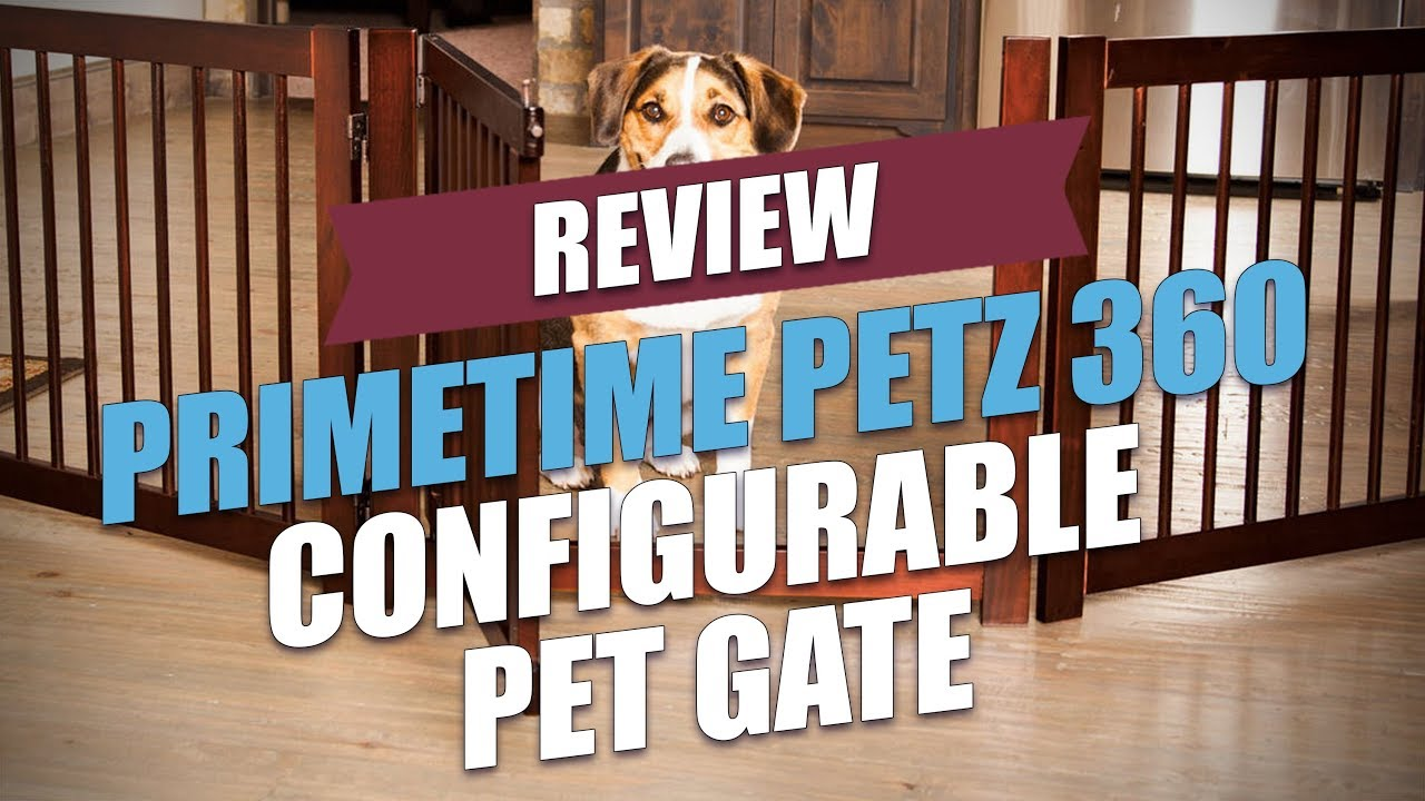 Review Primetime Petz 360 Configurable Dog Gate Top Dog Tips