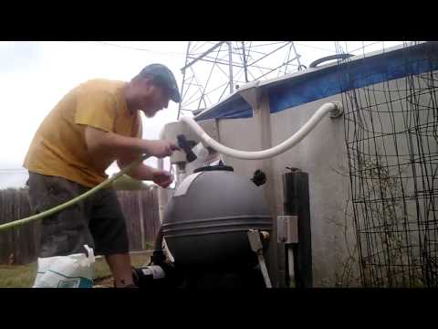 Swimming Pool Sand Filter Sand Change.part 2