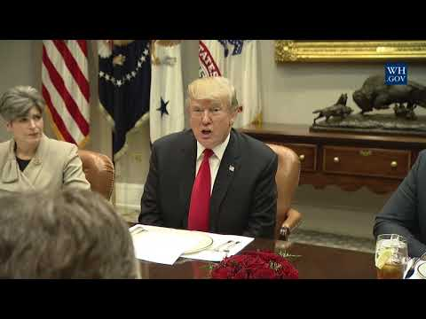 20171205 President Trump has Lunch with Republician Members of the Senate HD