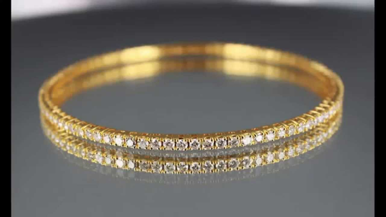 eternity bracelet coin roberto gold classic diamond bangle rose
