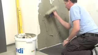 wedi | DE - Training: Badausbau mit der wasserdichten Bauplatte (Alternative zu Rigips)