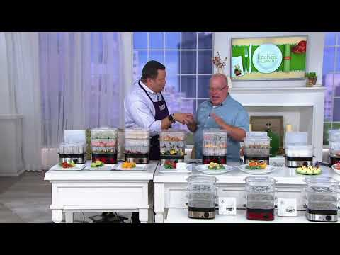 Yes Chef! 3-Tier Instant Food Steamer With 1-Liter Water Tank on QVC