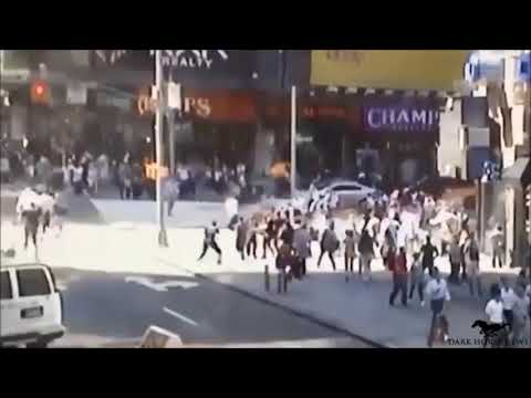 TIME SQUARE ATTACKER RUNNING OVER PEOPLE NEW YORK CITY 5-18-dave pennington videos ltd