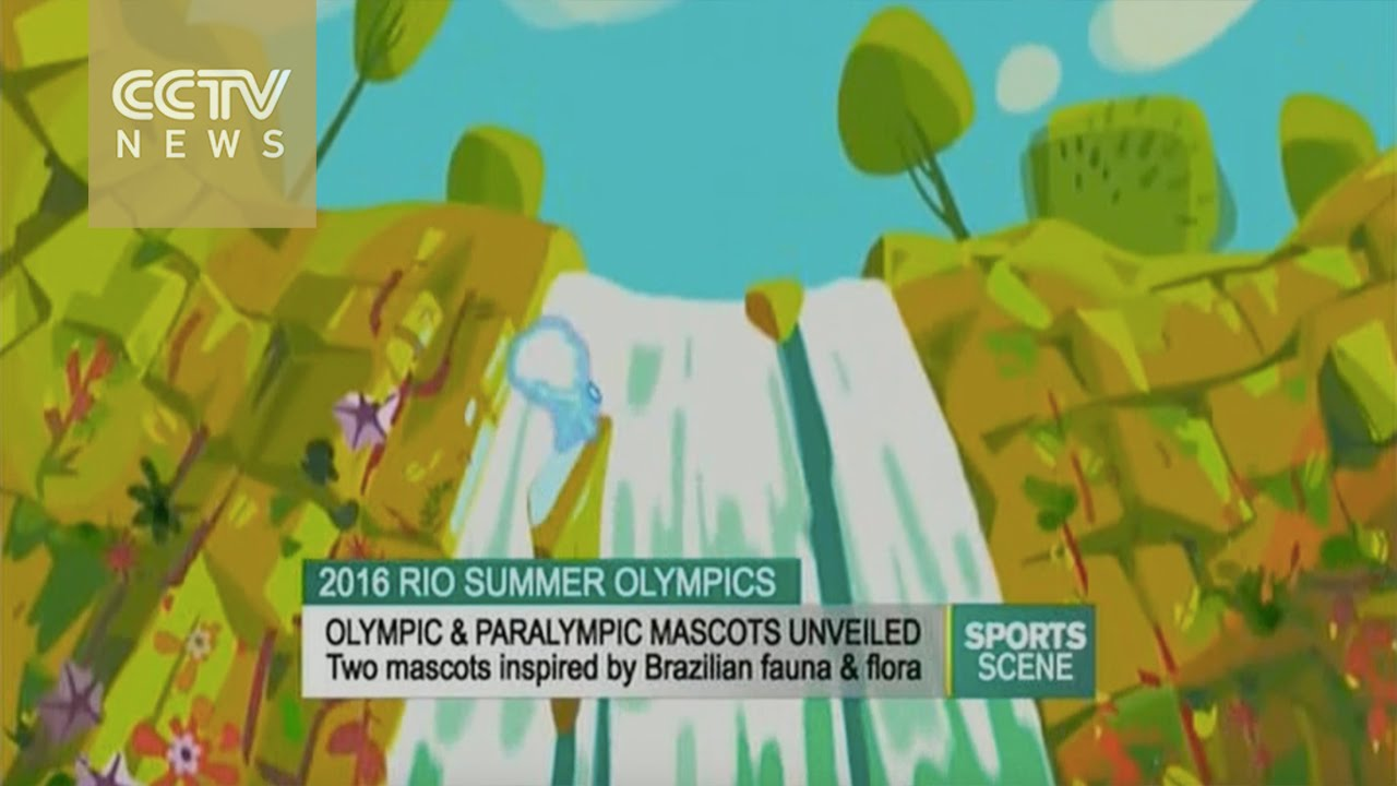 2016 Olympic  Paralympic mascots unveiled  YouTube
