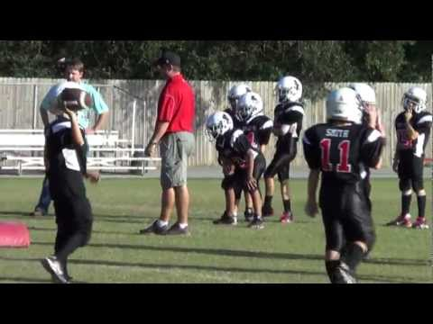 # 33 Julian (Juju) Mark 2012 youth football short film (7 year old nose guard/defensive end)