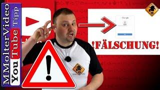 YouTube Account gehackt - Betrugsmasche mit dem vollen E-Mail Postfach!