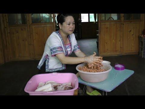 天气热没胃口,农村姑娘教你一道菜,熟后包你顿顿加三碗