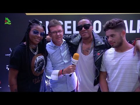 Anselmo Ralph no Brasil, Ludmilla e Zé Filipe - Não me toca