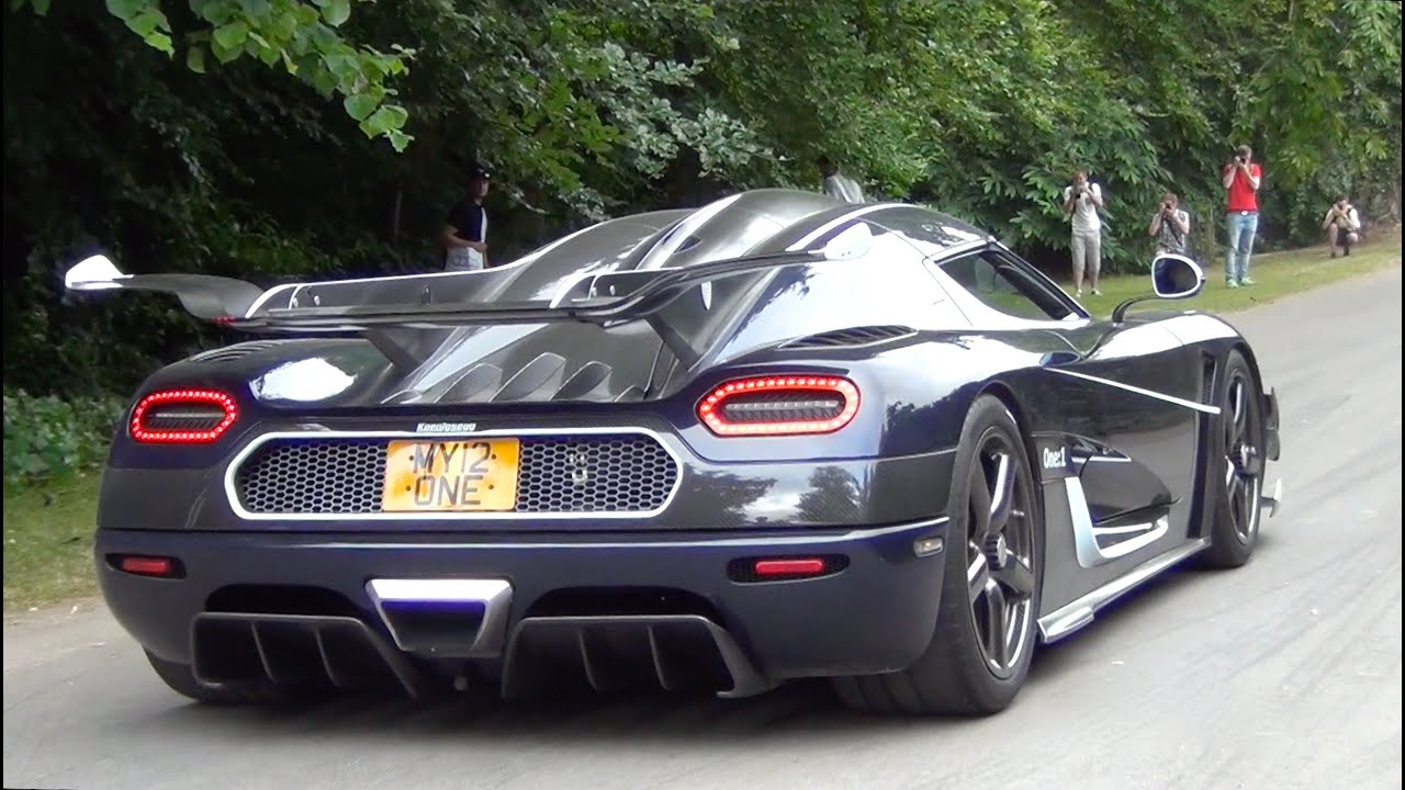 Koenigsegg e 1 SOUND Brutal Accelerations and Revs