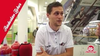 FANSHOP CHALLENGE #1: Radoslav Tybor prodává ve fanshopu v AFI Paláci
