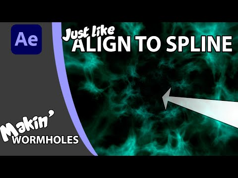 Create a Wormhole Particle Tunnel in After Effects