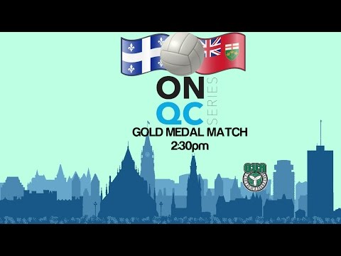 Gold Medal Match - 17U Girls Ontario Quebec Series