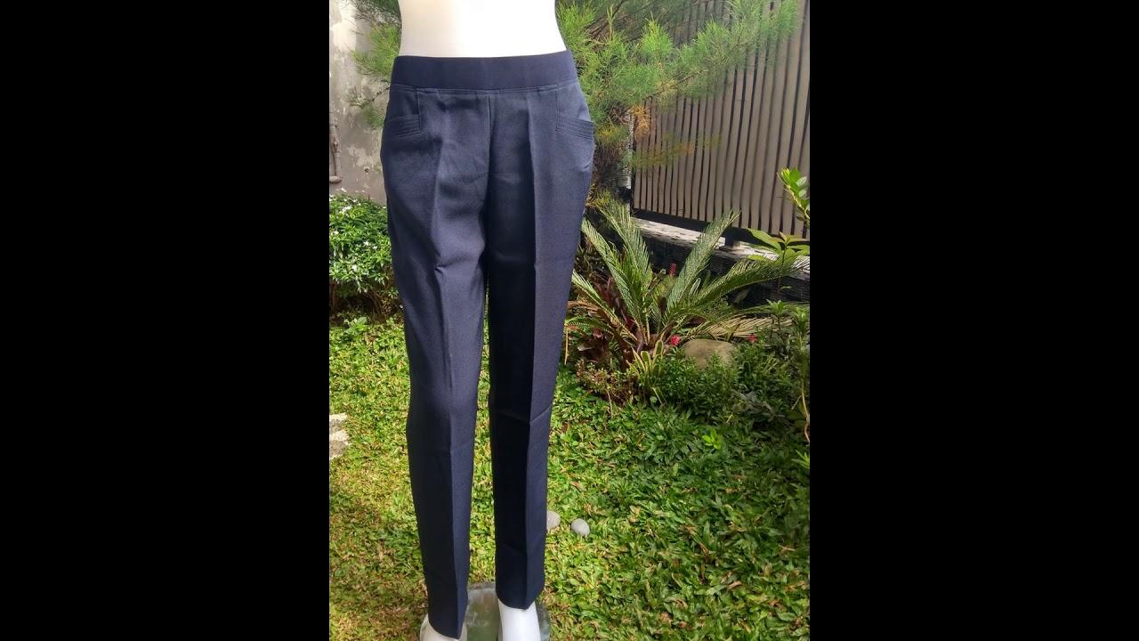 082177812336 Celana Kerja Wanita Pinggang Karet Di Bitung Youtube