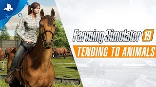 Farming Simulator 19 - Tending to Animals | PS4