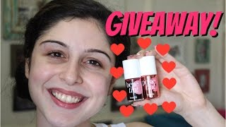 GIVEAWAY || Benetint & Posietint || How To Use + Review