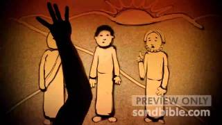 Easter Sand Animation Part IV - Resurrection, Ascension - Luke 24 - Sand Bible