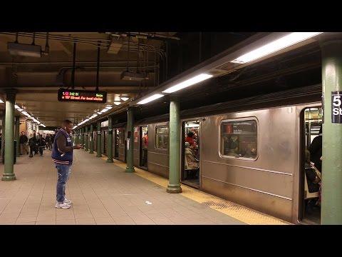 NYC Subway: IRT Seventh Ave Line at Columbus Circle