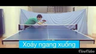 Một số kiểu giao bóng trong bóng bàn (some serves in table tennis)