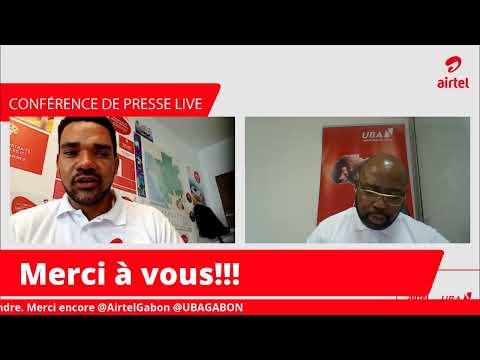 Conférence de presse Airtel Gabon & UBA Gabon