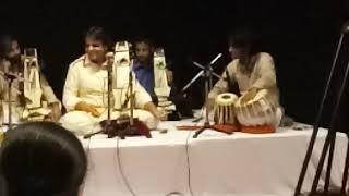 Ustad kamal sabri with his desiples tabla prashu chaturlal and sabir hussain