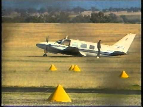 PA31 Crash Landing