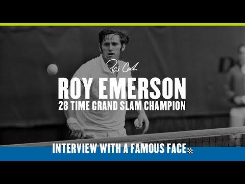 Roy Emerson, 12 Time Grand Slam Champion – Interview With A Famous Face