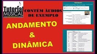 Andamento e Dinâmica - CCB Teoria e Leitura Musical - Atualizado