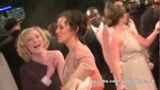 Alicya Eyo And Kelli Hollis On The Red Carpet At The National Television Awards 2013