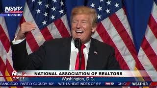 FULL SPEECH: President Trump speaks at National Realtors conference