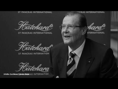 Nie żyje Roger Moore - niezapomniany James Bond | Onet100