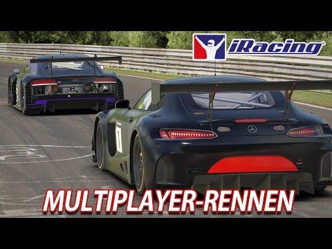 GT3 MP-Rennen | iRacing [GER] Mercedes AMG GT GT3 @ Nordschleife