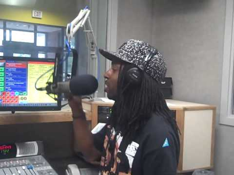 Brisco at Norfolk State University 91.1 radio staion Pt.1