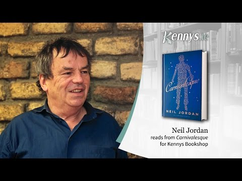 2017 Neil Jordan Reads from Carnivalesque for Kennys Bookshop