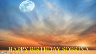 Sobrina  Moon La Luna - Happy Birthday