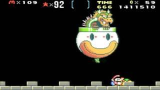 Super Mario Advance 2 - Super Mario World (GBA) Bowser's Castle