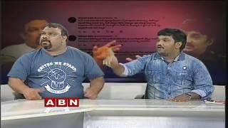 అన్నీ బయట పెడతా.. | Kathi Mahesh Challenges Pawan Kalyan And Trivikram | ABN Debate