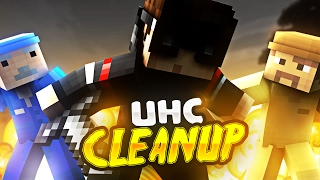 Tryhard Huahwi VS Janitors! - Minecraft UHC Meetup